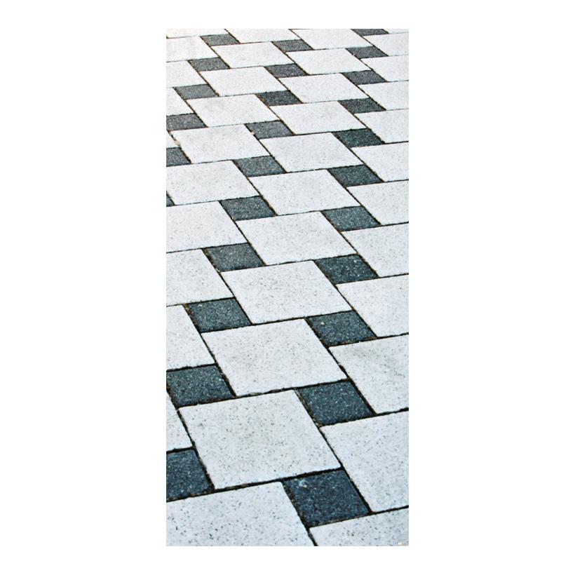 "# Motivdruck ""Fliesenboden"", 180x90cm Stoff"