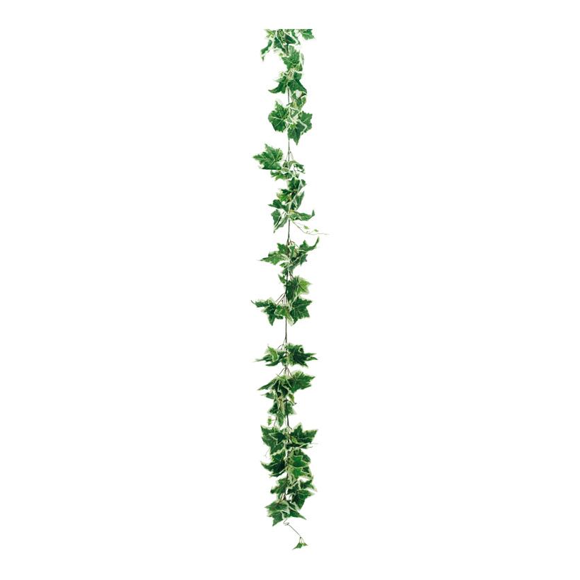 Efeugirlande, Ø 15cm, 200cm, mit 170 Blättern, Kunstseide