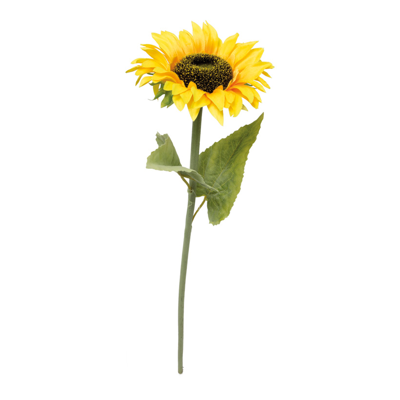 Sonnenblume, 65cm, Kunstseide, Ø15cm Blüte