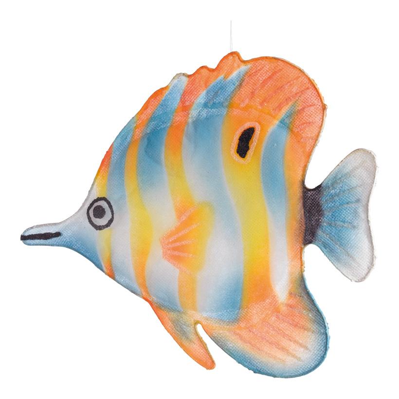 Tropenfisch, 24x30cm, Watte, Vlies