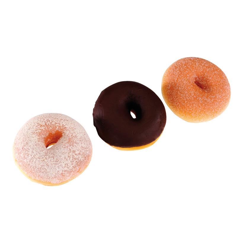 # Donuts, Ø 8cm, 3Stck./Btl., sortiert, Schaumstoff