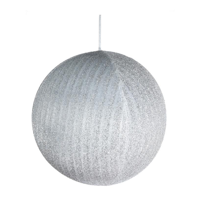 Textil-Weihnachtskugel, Ø 80cm aufblasbar
