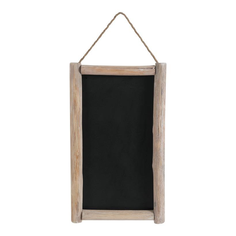 # Werbetafel, 60x37cm doppelseitig, mit Holzrahmen
