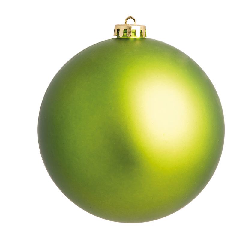 Weihnachtskugel, hellgrün matt, Ø 14cm