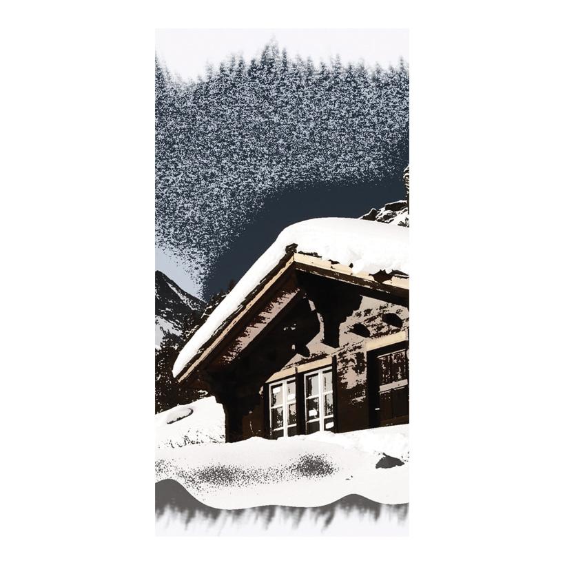 """# Motivdruck """"Chalet"""", 180x90cm Papier"""