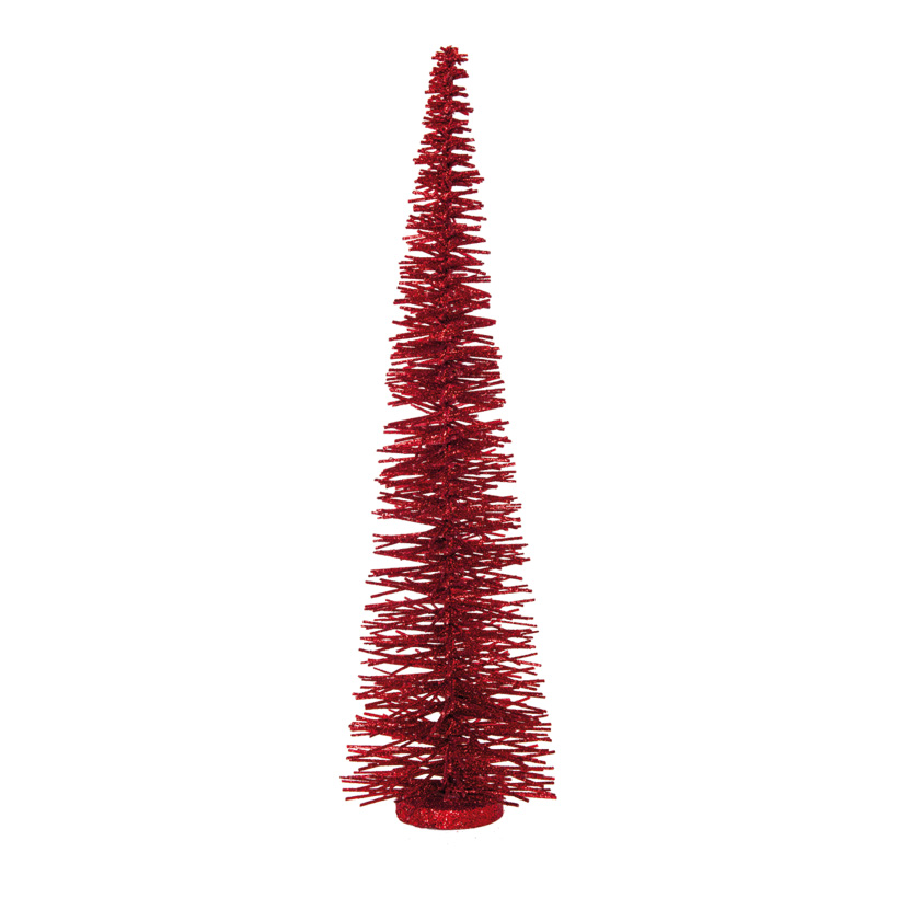 Tannenbaum, H: 60cm Ø 14cm aus Metalldraht