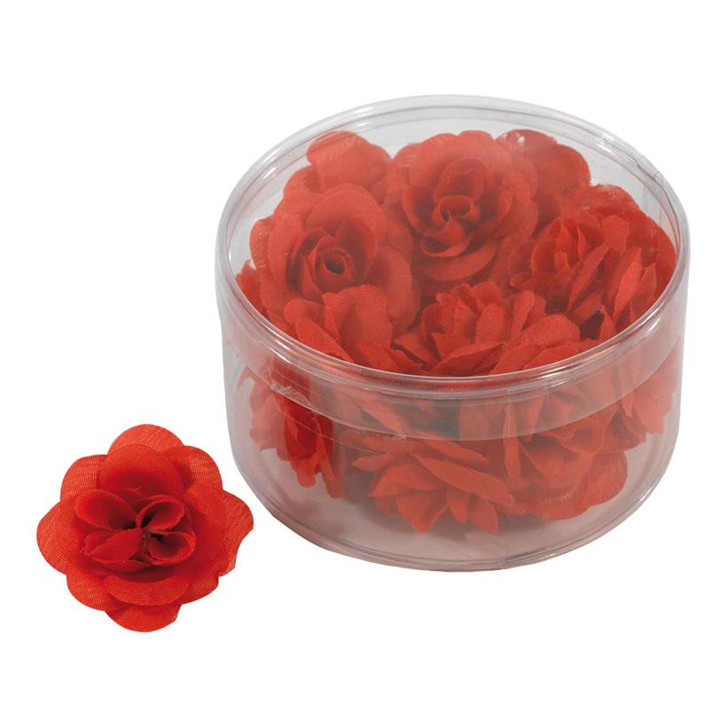 # Rosenblütenköpfe, 4,5cm, 20Stck./Blister, Kunstseide