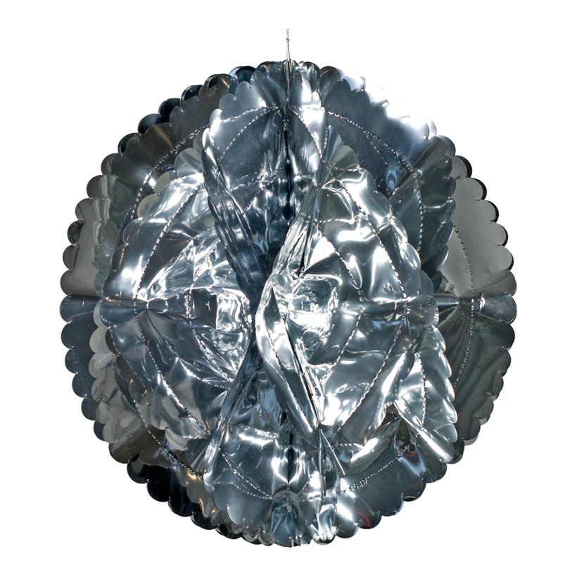 Folienkugel, Ø 40cm, faltbar, Metallfolie