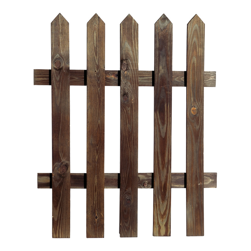 Zaun 71x79 cm Holz, gewischt