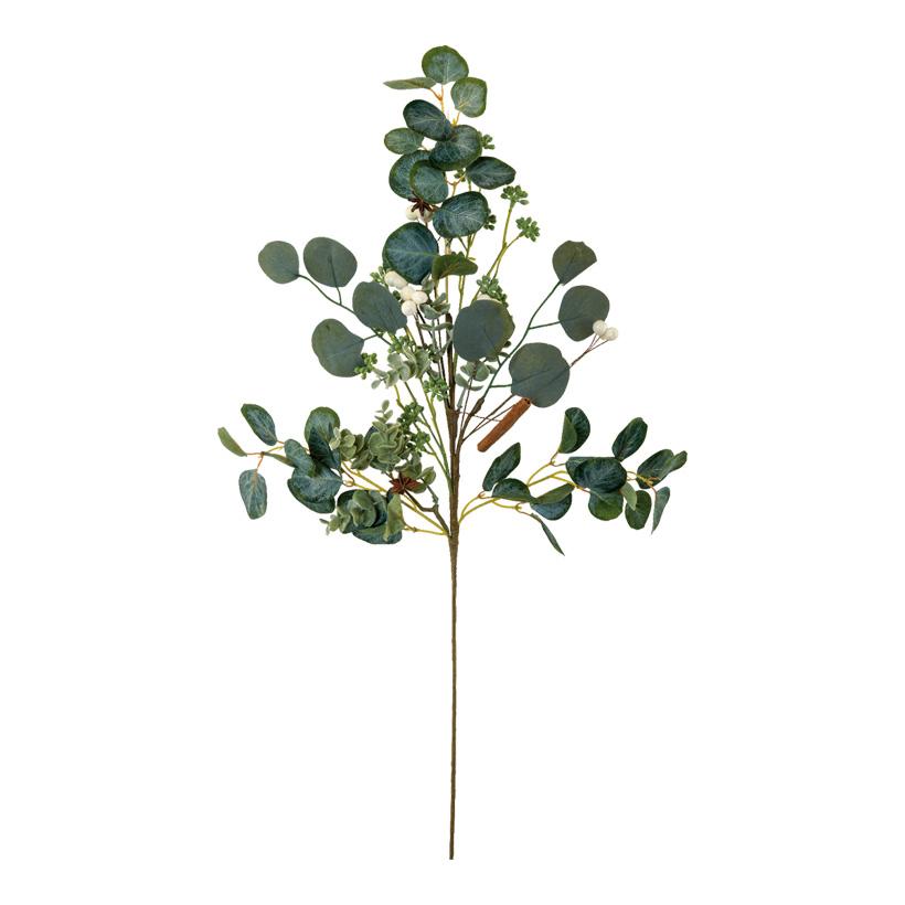 Eukalyptuszweig, 70cm aus Kunststoff und Kunstseide
