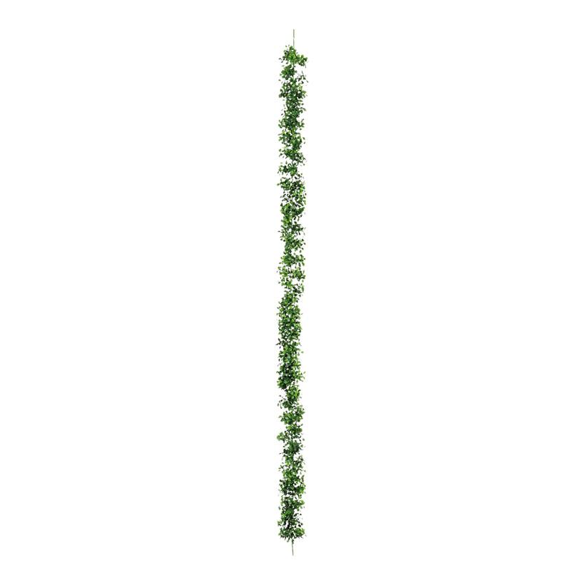 Buchsbaumgirlande, Ø 9cm, 180cm, Kunststoff