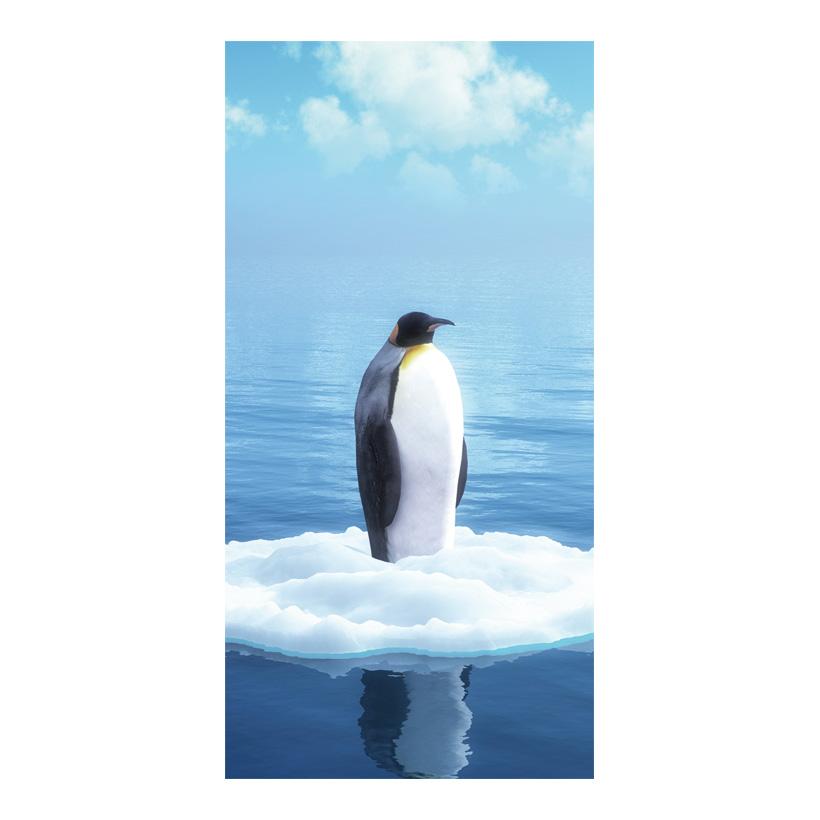 "# Motivdruck ""Pinguin"", 180x90cm Stoff"