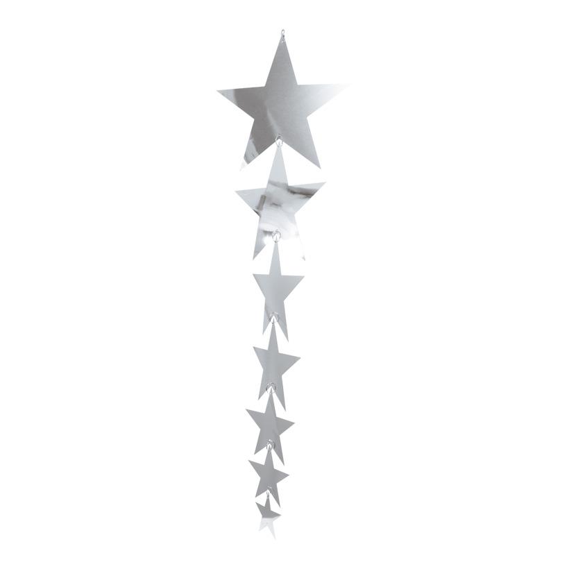 Sternenhänger, 18x65cm, 7-fach, Folie