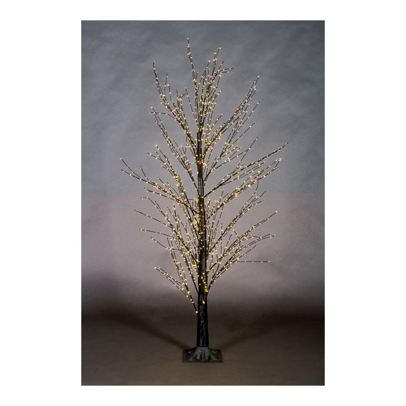 LED-Baum, 150cm Ø70cm mit 700 LEDs, 3-teilig, mit IP44 Trafo, 24V, mit Standfuß