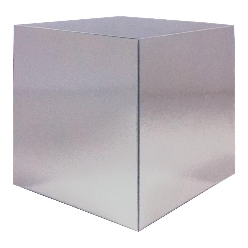 Würfel, 25x25cm mit Spiegelfinish, klappbar, aus Hartschaum