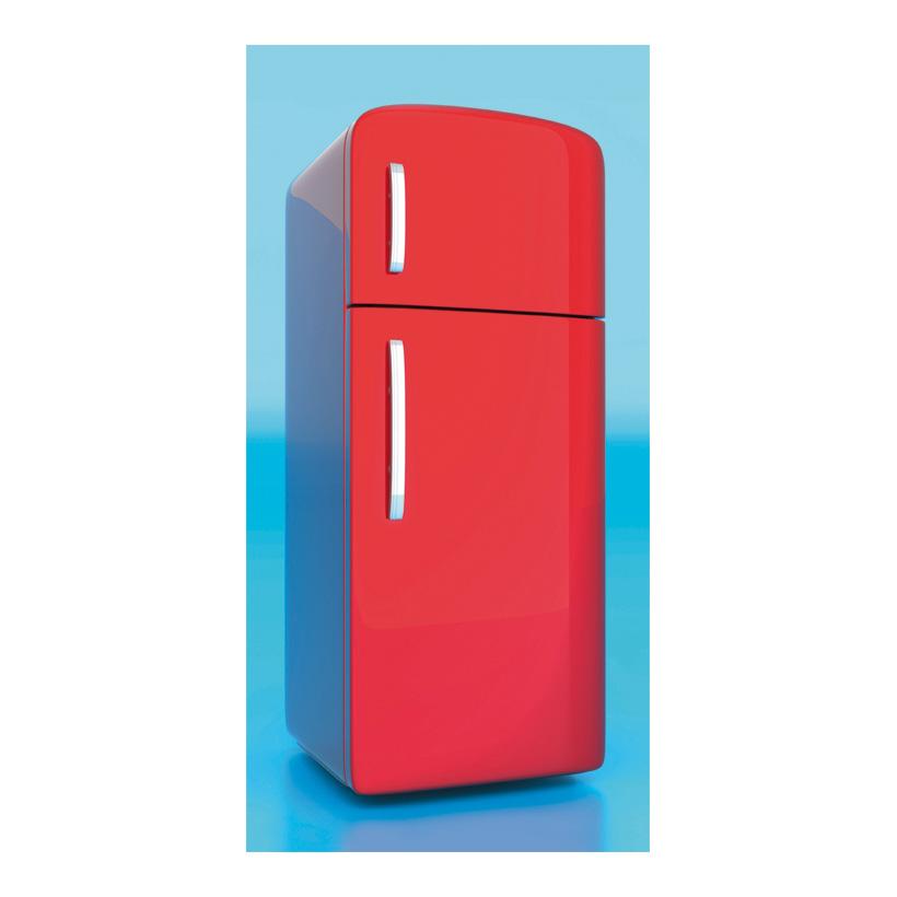 """# Motivdruck """"Kühlschrank"""", 180x90cm Stoff"""