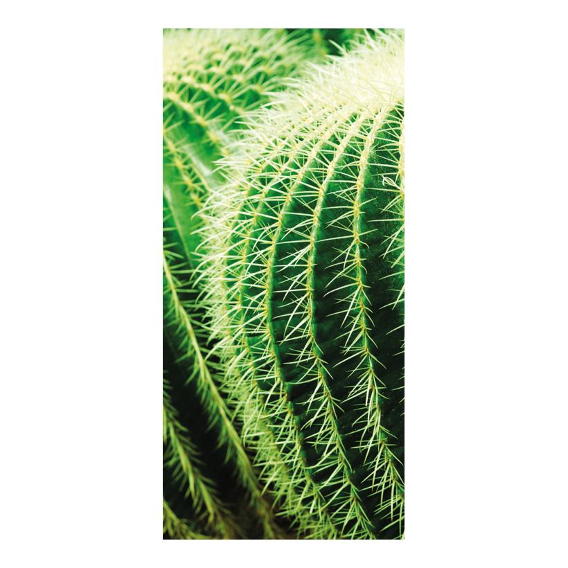 """# Motivdruck """"Kaktus"""", 180x90cm Stoff"""