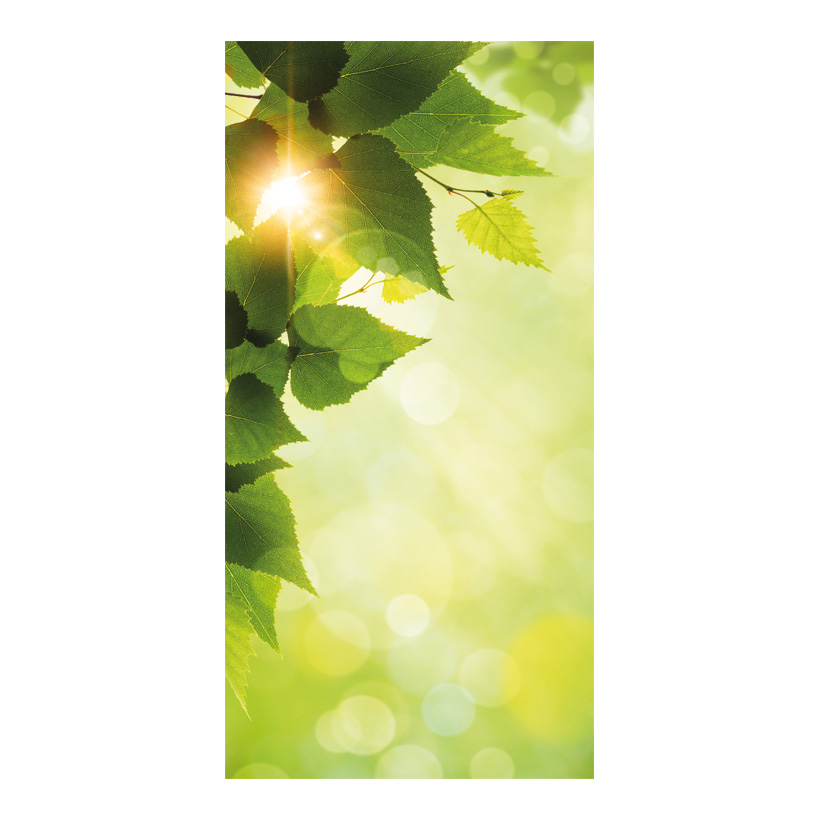"# Motivdruck ""Frühlingssonne"", 180x90cm Papier"