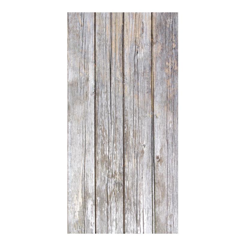 """# Motivdruck """"alte Holzwand"""", 180x90cm Stoff"""
