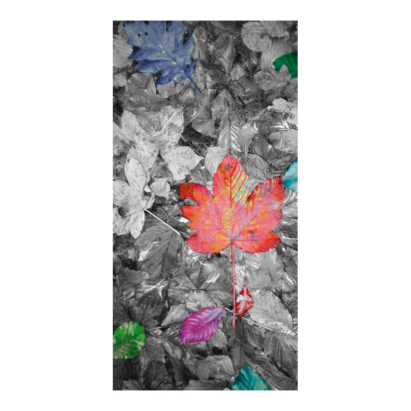 "# Motifdruck ""Bunter Herbst"", 180x90cm Stoff"