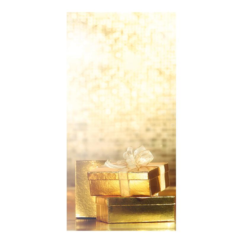 """# Motivdruck """"Geschenkpäckchen"""", 180x90cm Papier"""