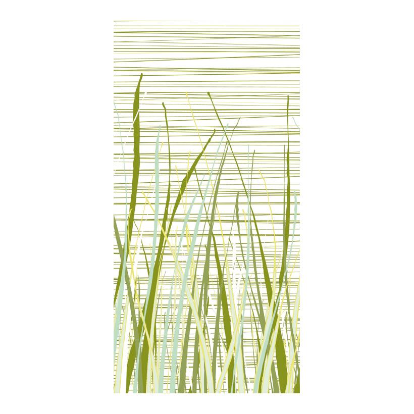 """# Motivdruck  """"Vegetative strips"""", 180x90cm Papier"""