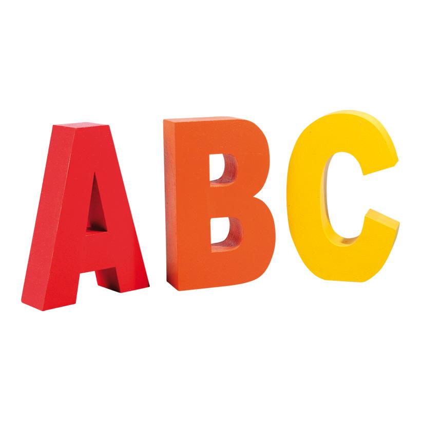 # Buchstaben ABC, 50x30cm Styropor