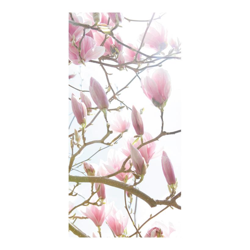 "# Motivdruck ""Magnolien"", 180x90cm Stoff"