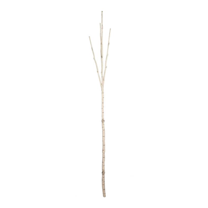 Birkenstamm, 180cm, 3-fach, Kunststoff