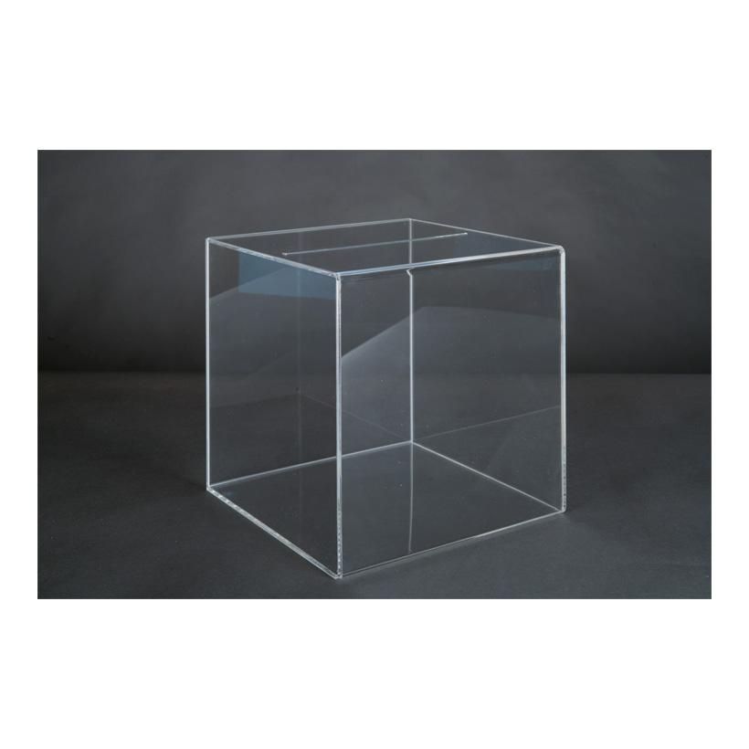 # Acryl-Losbox, 30x30x30cm mit herausnehmbarer Rückwand