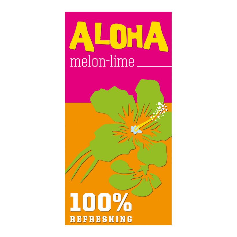 "# Motivdruck ""Aloha"", 180x90cm Papier"