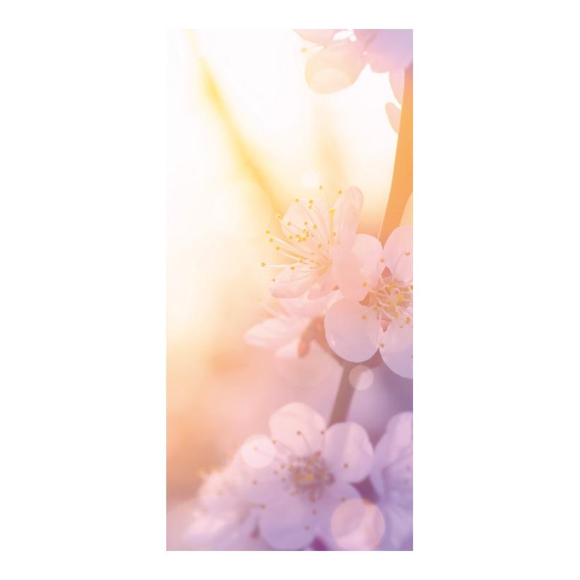 """# Motivdruck """"Soft Blossoms"""", 180x90cm Papier"""