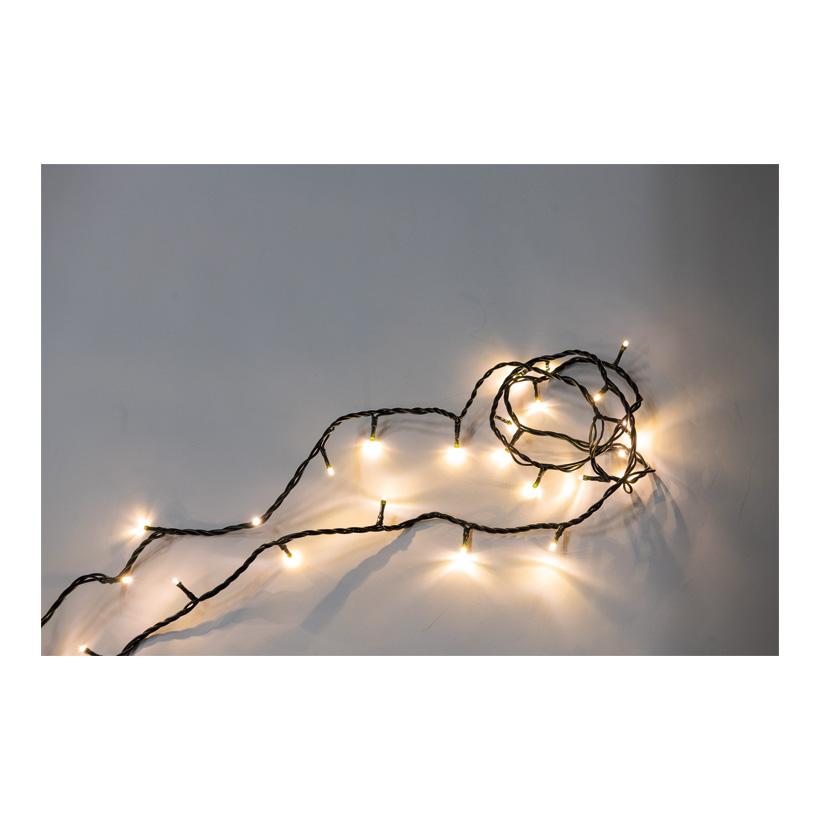 LED-Lichterkette, 500cm, 50-fach, 20x koppelbar, 230V Stecker, für Innen