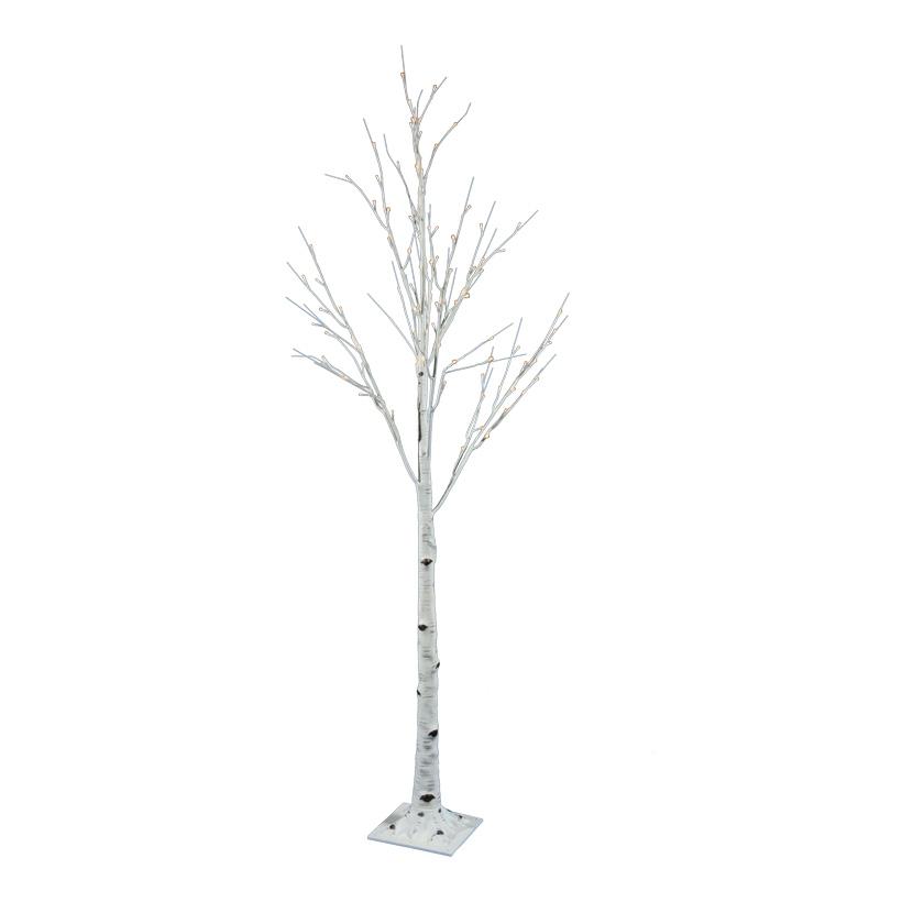 LED-Birkenbaum, 180cm mit 96 LEDs, 24V Trafo, IP44, 5m Zuleitung