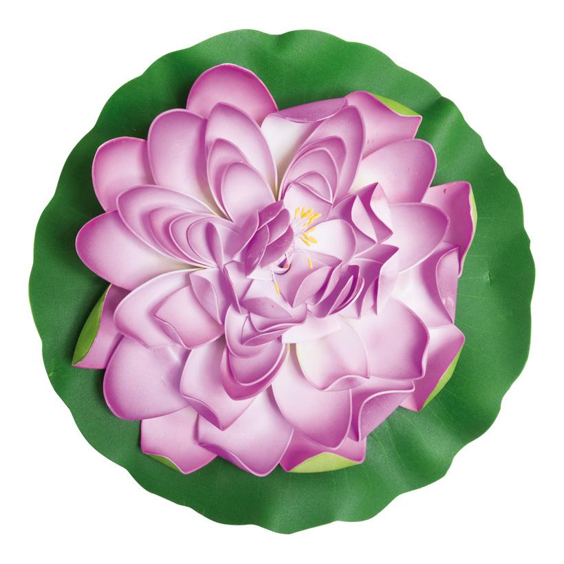 # Seerose, blühend, Ø 40cm, Schaumstoff