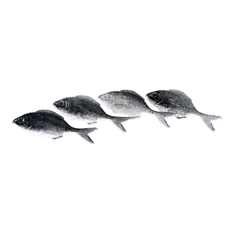 # Sardinen, 4x12cm, 4Stck./Btl., Kunststoff