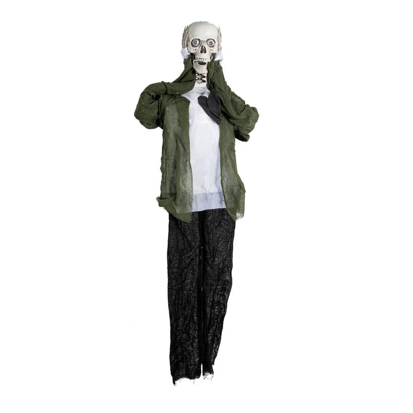 Skelett, 160cm mit losem Kopf, mit Effekten