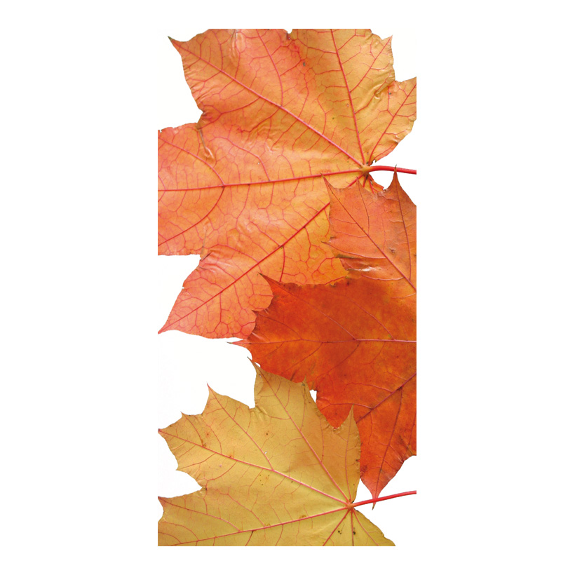 "# Motivdruck ""Brown leaves"", 180x90cm Stoff"