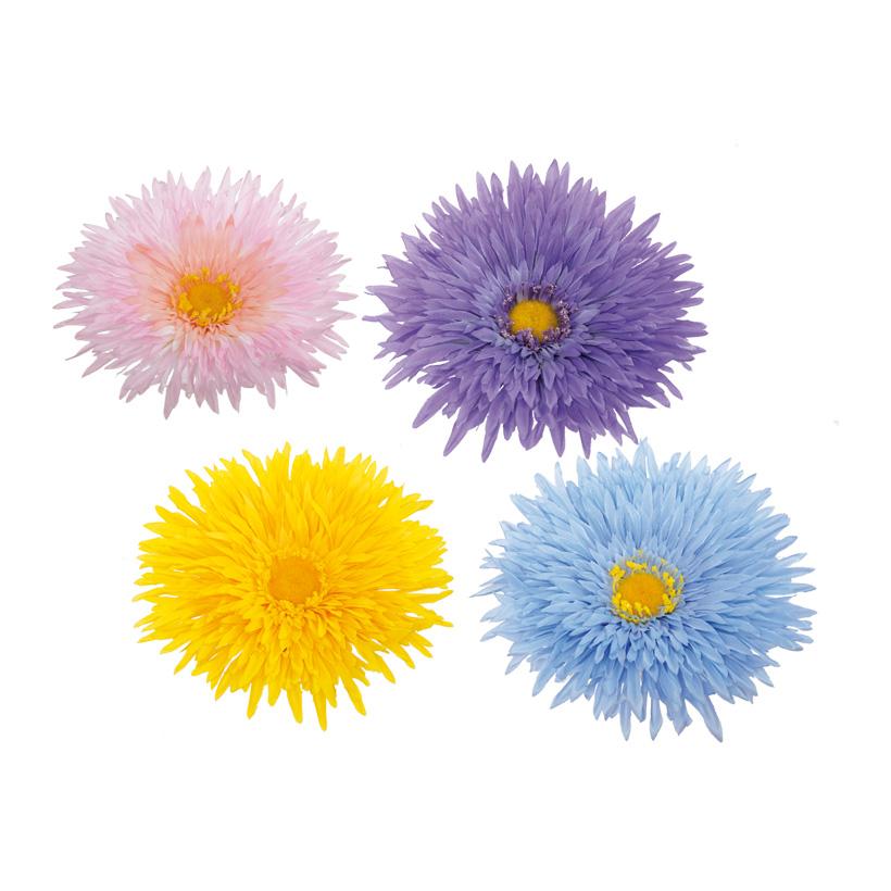 Gerberablüten, Blüte Ø 17cm, 8-fach, Kunststoff