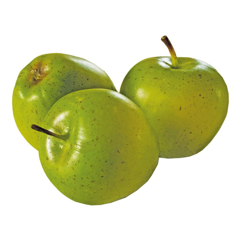 # Äpfel, Ø 8cm, 3Stck./Btl., Kunststoff