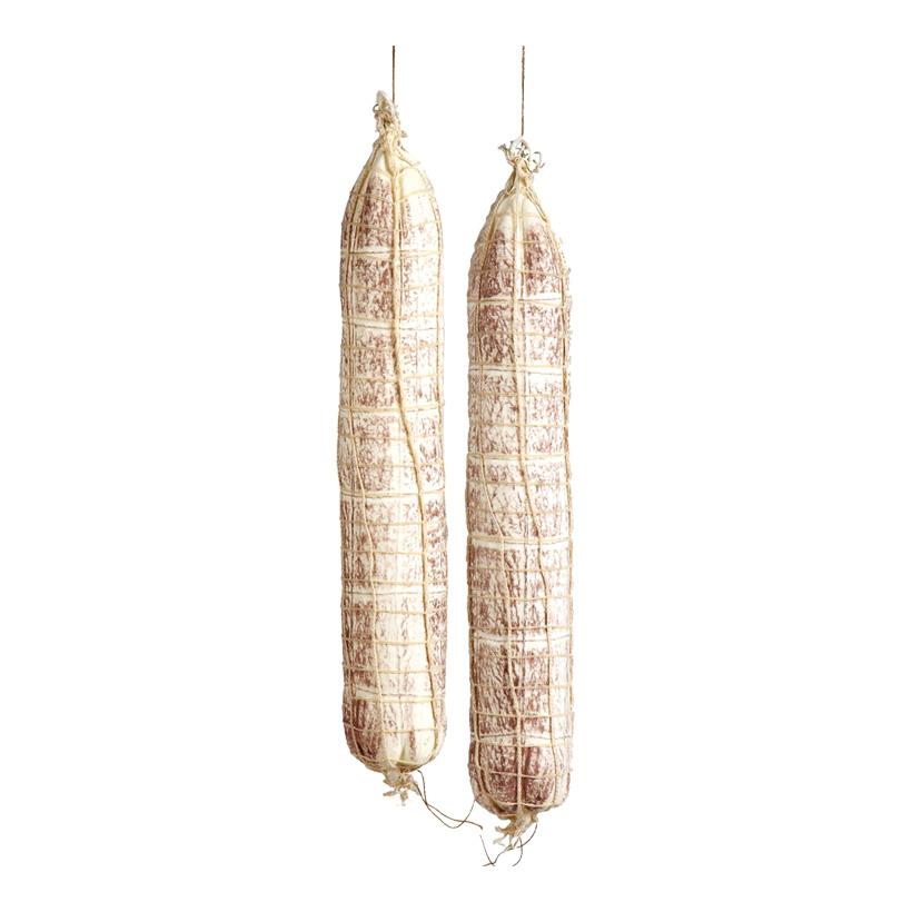 # Salami, Ø 7cm, 45cm, 2Stck./Btl., im Netz, Kunststoff