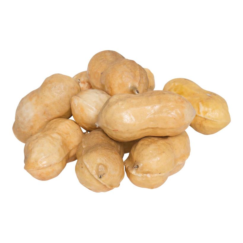 Erdnüsse, 4cm, 22Stck./Blister, Styrofoam