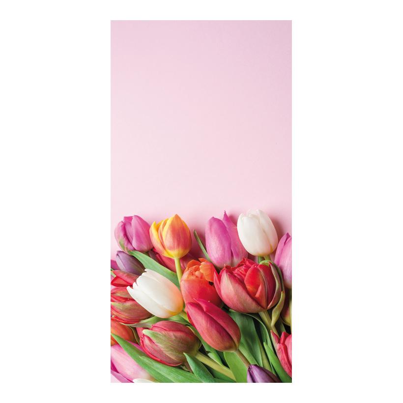 # Motivdruck, Tulpen Bouquet, 180x90cm Stoff