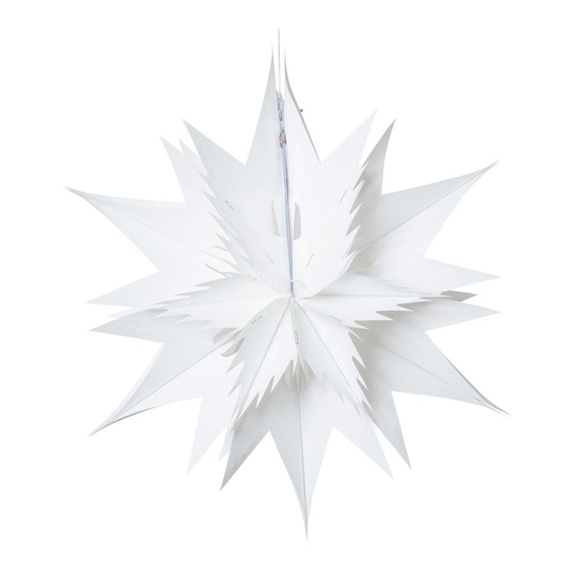 Stern, Ø 30cm, faltbar, Metallfolie