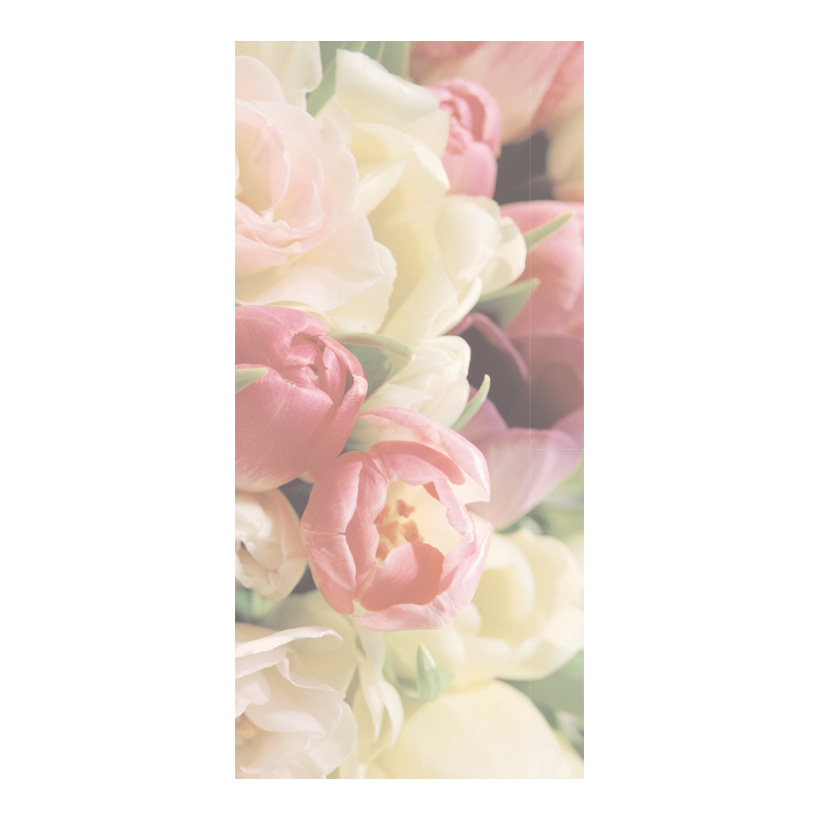 """# Motivdruck """"Soft Tulips"""", 180x90cm Papier"""