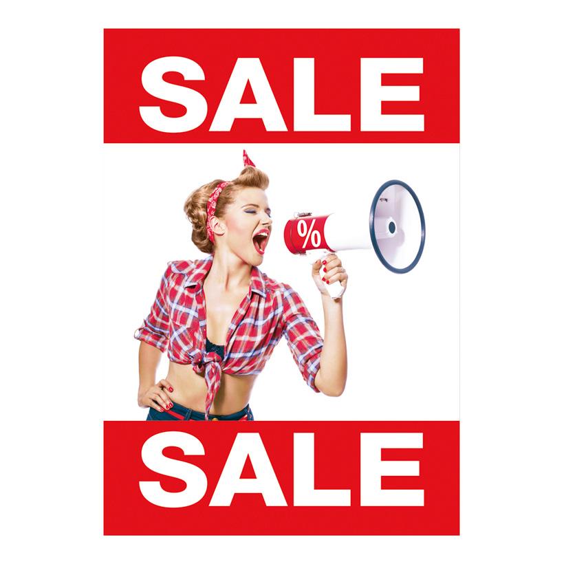 # Plakat Sale 84x59 cm Pappe