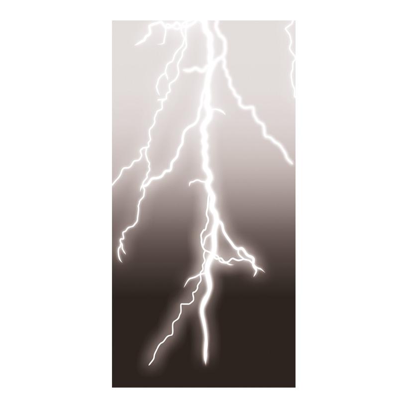 "# Motivdruck  ""Gewitter"", 180x90cm Papier"