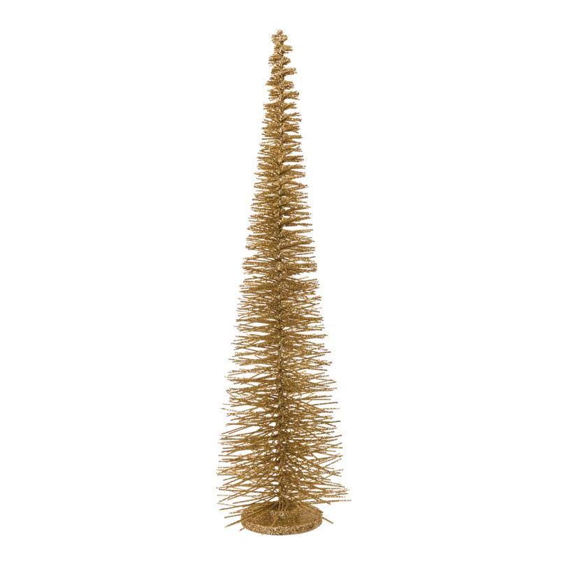 Tannenbaum, H: 90cm Ø 22cm aus Metalldraht