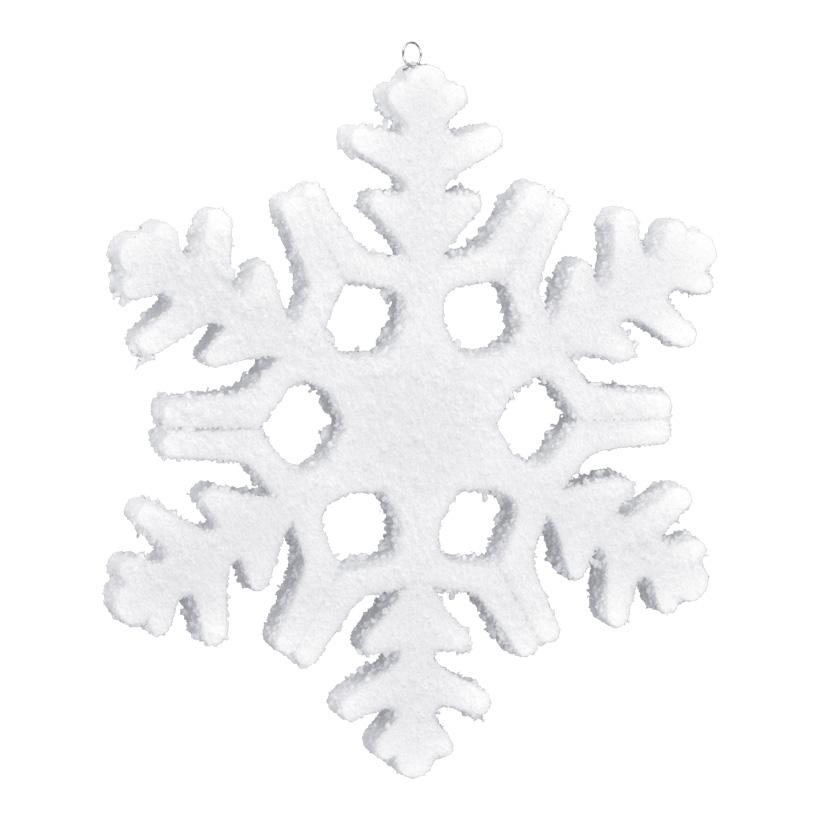 Schneeflocke, 20x20cm, Styrofoam
