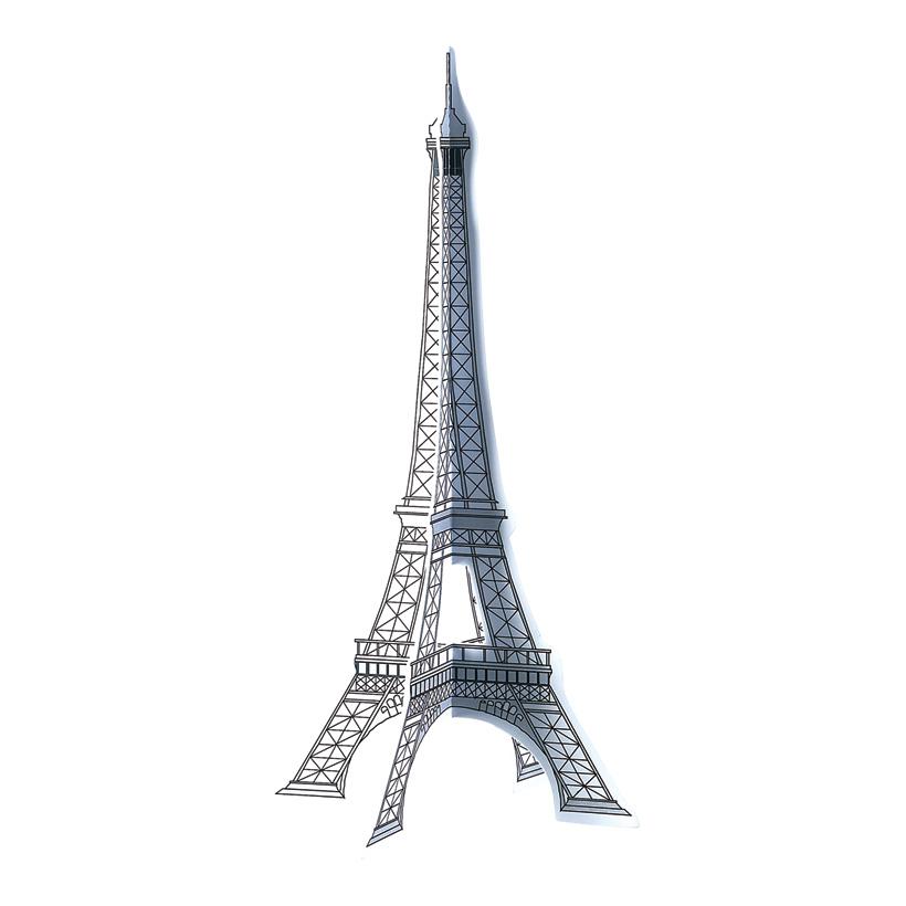# Eiffelturm 40 x 20 x 20 cm Papier